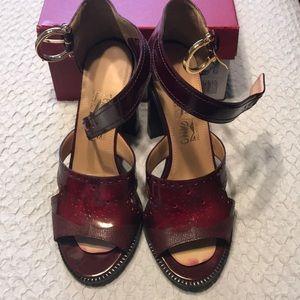 Salvatore Ferragamo chunky heel sandals